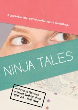 Ninja tales flyer EMAIL